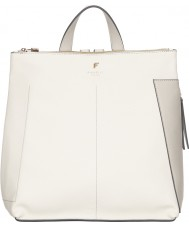 Fiorelli FH8656-WHITEMIX Ladies Finley White Mix Casual Backpack