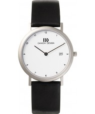 Danish Design Q12Q272 Mens Black Leather Strap Watch