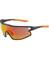 Bolle B-Rock Matt Black and Orange TNS Fire Sunglasses