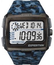 Timex TW4B07100 Mens Grid Shock Blue Resin Strap Watch