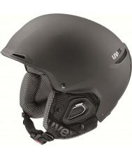 Uvex 5661822007 Jakk Plus Black Ski Helmet with Octo Plus Technology - 59-62cm