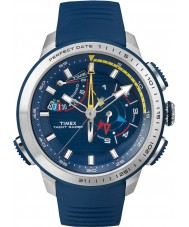 Timex TW2P73900 Mens Yacht Racer Chronograph Blue Silicone Strap Watch