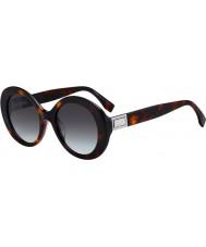 Fendi Ladies FF0293 S 086 IB 52 Sunglasses
