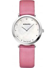 Rodania Swiss RS25057-22 Ladies Pink Elios Silk Watch