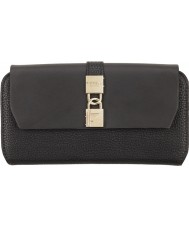 Fiorelli FS0861-BLACK Ladies Evie Black Flap Over Purse