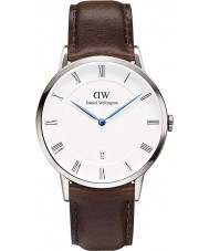 Daniel Wellington DW00100090 Mens Dapper 38mm Bristol Silver Watch