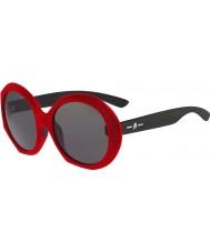 Karl Lagerfeld Ladies KL002S Red Velvet Sunglasses