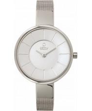 Obaku V149LXCIMC Ladies Silver Tone Mesh Bracelet Watch
