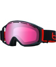 Bolle 21032 Gravity Matte Black - Vermillon Gun Ski Goggles