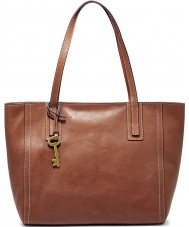 Fossil ZB6844200 Ladies Emma Brown Tote Bag