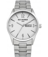 Ben Sherman WB053SM Mens Silver Steel Bracelet Watch