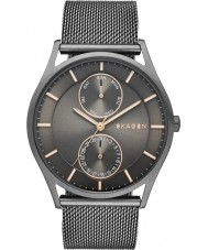 Skagen SKW6180 Mens Holst Gunmetal Mesh Bracelet Watch