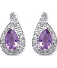 Purity 925 PUR3729ES Ladies Earrings