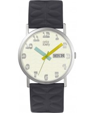 Orla Kiely OK2133 Ladies Madison Navy Leather Strap Watch