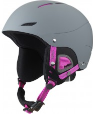 Bolle 31194 Juliet Soft Grey and Pink Ski Helmet - 52-54cm