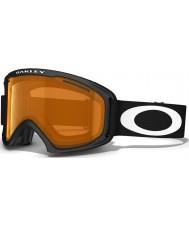 Oakley 59-360 02 XL Matte Black - Persimmon Ski Goggles