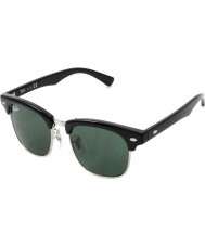 RayBan Junior RJ9050S 45 Clubmaster Black 100-71 Sunglasses