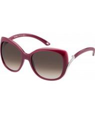 MaxMara Ladies MM ST.Moritz T56 K8 Red Sunglasses
