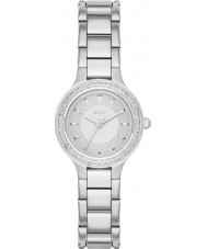 DKNY NY2391 Ladies Chambers Silver Steel Bracelet Watch