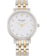 Kate Spade New York 1YRU0823 Ladies Monterey Silver Steel Bracelet Watch