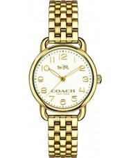 Coach 14502241 Ladies Delancey Gold Plated Steel Bracelet Watch