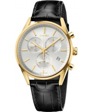 Calvin Klein K4M275C6 Mens Formality Black Chrono Watch