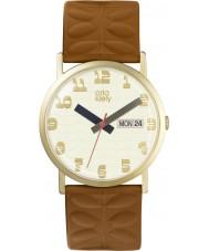 Orla Kiely OK2134 Ladies Madison Tan Leather Strap Watch