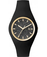 Ice-Watch 001356 Ice-Glitter Exclusive Black Silicone Strap Watch