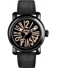 Pocket PK3006 Mens Rond Classique Grande All Black Watch