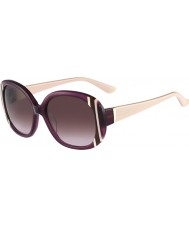 Salvatore Ferragamo Ladies SF674S Shiny Violet Sunglasses