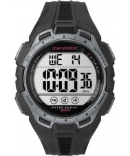 Timex TW5K94600 Digital Full Marathon Black and Silver Chrono Watch