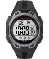 Timex TW5K94600 Digital Full Marathon Black and Silver Chrono Watch