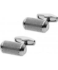 Skagen SKJM0016040 Mens Kring Silver Steel Cufflinks