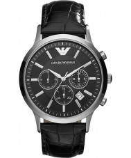 Emporio Armani AR2447 Mens Classic Chronograph Black Watch