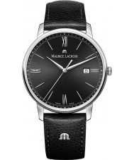 Maurice Lacroix EL1118-SS001-310-1 Mens Eliros Black Leather Strap Watch