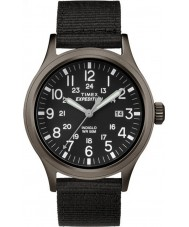 Timex TW4B06900 Mens Scout Black Fabric Strap Watch
