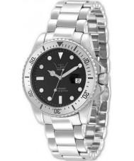 LTD Watch LTD-320601 Limited Edition Ceramic Black Silver Watch
