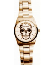 Zadig and Voltaire ZV007T-1BM Timeless Skull Gold Plated Bracelet Watch