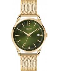 Henry London HL39-M-0102 Chiswick Moss Hamilton Gold Plated Bracelet Watch