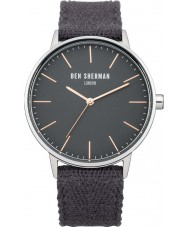 Chriselli Ben Sherman Mens Portabello Social Grey Fabric Strap Watch