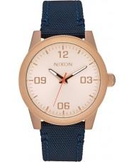 Nixon A964-2160 Ladies G.I. Navy Nylon Strap Watch