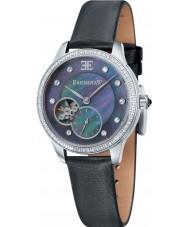 Thomas Earnshaw ES-8029-01 Lady Australis Black Satin Strap Watch