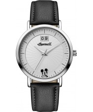 Disney by Ingersoll ID00501 Ladies Union Black PU Leather Strap Watch