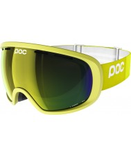 POC PO-74287 Fovea Hexane Yellow Mirror Ski Goggles