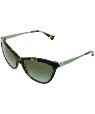 Emporio Armani EA4030 57 Essential Leisure Green Havana 52278E Sunglasses