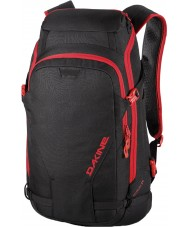Dakine 10000226-BLACK-OS Heli Pro DLX Black Backpack - 24L