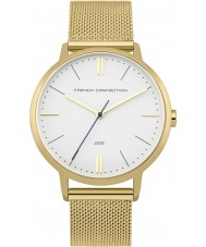 French Connection FC1263GM Mens Gold Plated Bracelet Watch