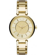 Armani Exchange AX5316 Ladies Urban Gold Plated Bracelet Watch