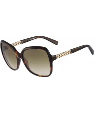 Karl Lagerfeld Ladies KL841S Havana Sunglasses
