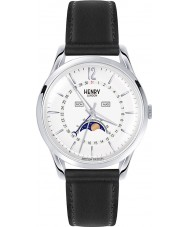 Henry London HL39-LS-0083 Ladies Edgware Black Leather Strap Watch